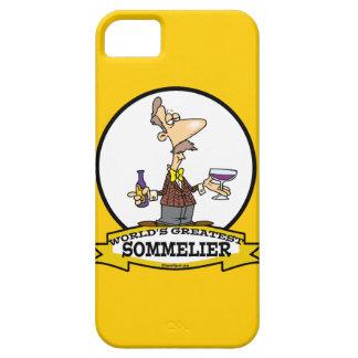 WORLDS GREATEST SOMMELIER CARTOON iPhone SE/5/5s CASE