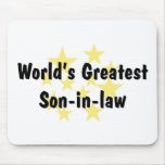 World's Greatest Son-in-law Mousepad