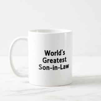 World's Greatest Son-in-Law Mug