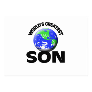 World's Greatest Son Large Business Cards (Pack Of 100)
