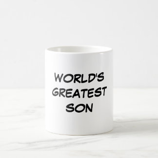 """World's Greatest Son"" Mug"
