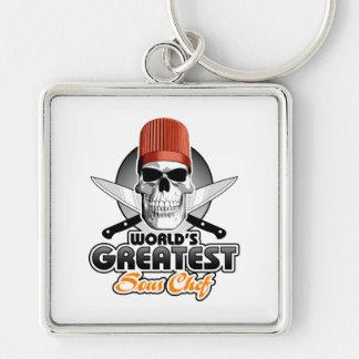 World's Greatest Sous Chef v1 Keychain