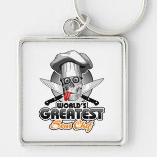 World's Greatest Sous Chef v3 Keychain