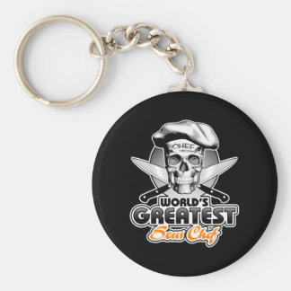 World's Greatest Sous Chef v5 Basic Round Button Keychain