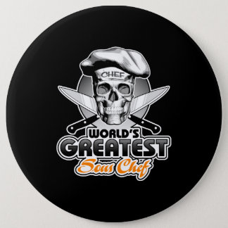 World's Greatest Sous Chef v5 Pinback Button