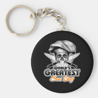 World's Greatest Sous Chef v6 Basic Round Button Keychain