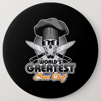 World's Greatest Sous Chef v7 Pinback Button