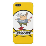 WORLDS GREATEST SPAMMER CARTOON CASE FOR iPhone 5
