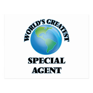 World's Greatest Special Agent Post Cards
