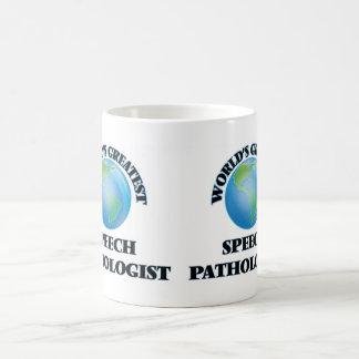 World's Greatest Speech Pathologist Classic White Coffee Mug