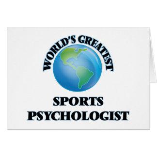 World's Greatest Sports Psychologist Card
