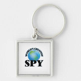 World's Greatest Spy Keychains