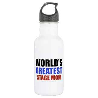 World's greatest STAGE MOM Stainless Steel Water Bottle