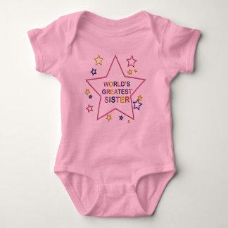Worlds Greatest Star Sister Infant Creeper