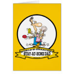 WORLDS GREATEST STAY AT HOME DAD CARTOON CARD