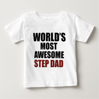 World's Greatest Step dad Baby T-Shirt