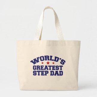 World's Greatest Step Dad Bag