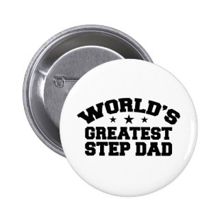World's Greatest Step Dad Button
