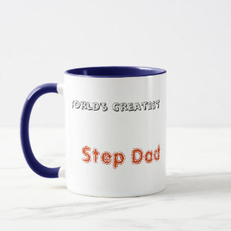 World's Greatest Step Dad Coffee Cup