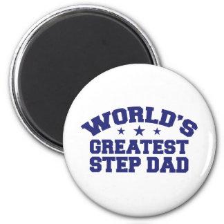 World's Greatest Step Dad Fridge Magnets