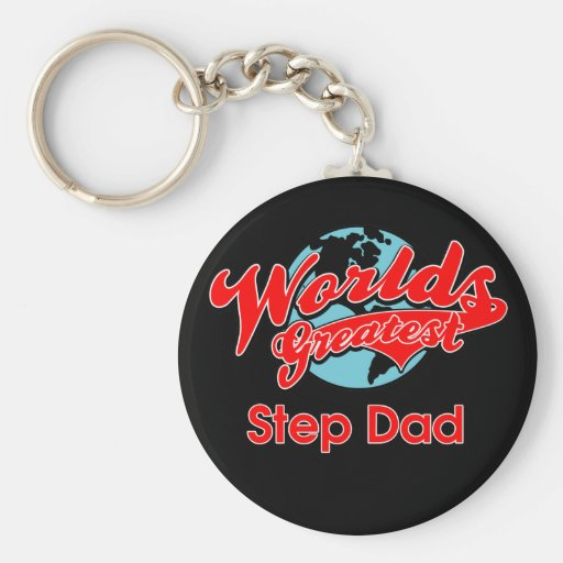 World's Greatest Step Dad Key Chains