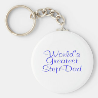 Worlds Greatest Step Dad Key Chain