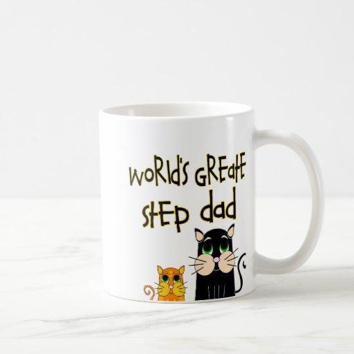 World's Greatest Step Dad Mugs
