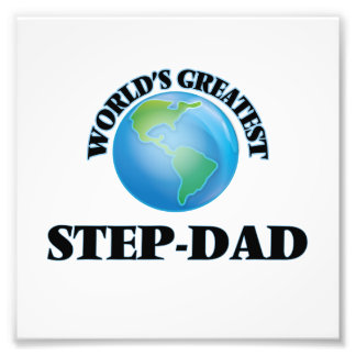 World's Greatest Step-Dad Photograph