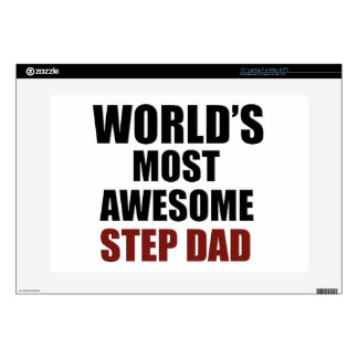 World's Greatest Step dad Skins For Laptops