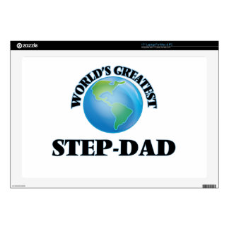 World's Greatest Step-Dad Skin For Laptop