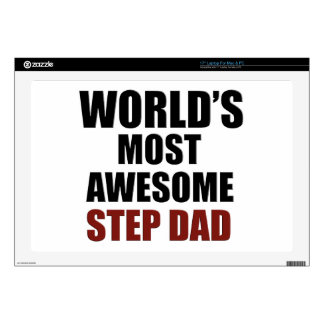 World's Greatest Step dad Decals For Laptops