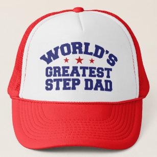 1f87cda88c5 World s Greatest Step Dad Trucker Hat