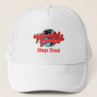 World's Greatest Step Dad Trucker Hat