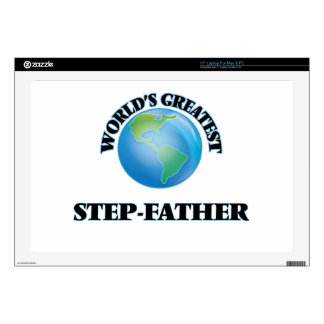 World's Greatest Step-Father Decals For Laptops