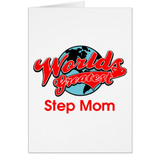World's Greatest Step Mom Card