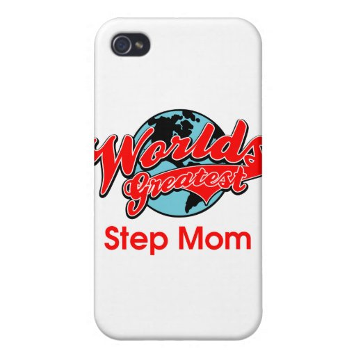 World's Greatest Step Mom iPhone 4 Cover