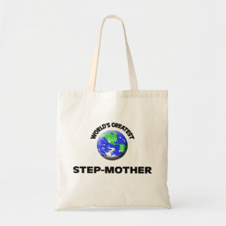 World's Greatest Step-Mother Canvas Bag