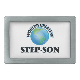 World's Greatest Step-Son Belt Buckle