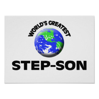 World's Greatest Step-Son Poster