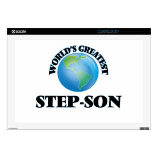 """World's Greatest Step-Son Decals For 17"""" Laptops"""