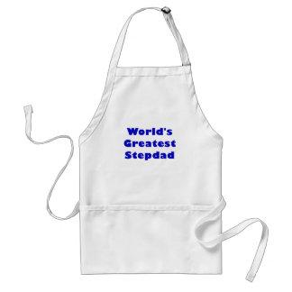 Worlds Greatest Stepdad Adult Apron