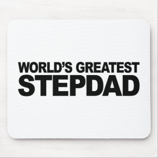 World's Greatest Stepdad Mouse Pad