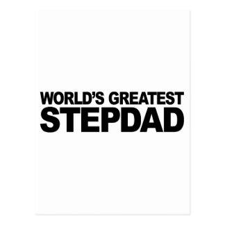 World's Greatest Stepdad Postcard