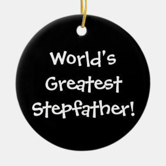 Worlds Greatest Stepfather Ornaments