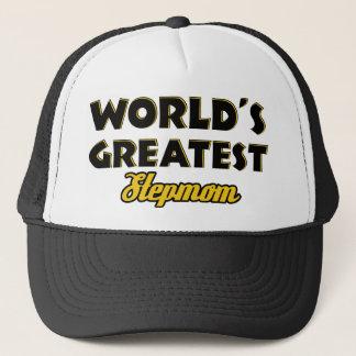 World's greatest Stepmom Trucker Hat