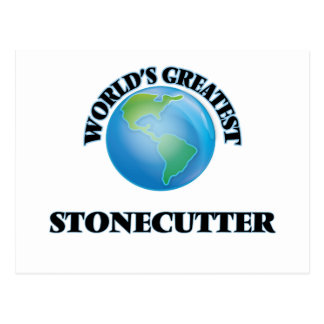 World's Greatest Stonecutter Postcards