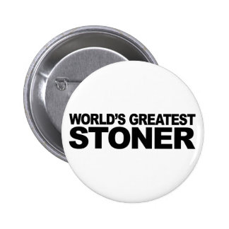 World's Greatest Stoner 2 Inch Round Button