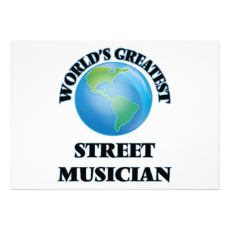World's Greatest Street Musician Cards
