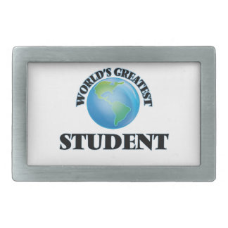 World's Greatest Student Belt Buckle