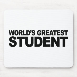 World's Greatest Student Mouse Pads